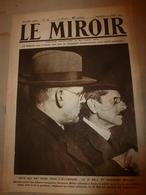 1919 LE MIROIR:Pendant Signature Du Traité à Paris ,Francfort-sur-le-M Encerclé;Une Brave Baleine Trompe Les Anglais;etc - Français