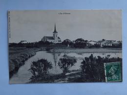 C.P.A. 85 L'ILE D'OLONNE, Timbre 1910 - Andere Gemeenten