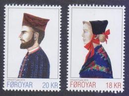 FAROE ISLANDS 2018 - National Costumes III, Complete Set Of 2v. MNH - Faroe Islands