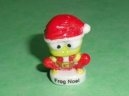 Fèves / Personnages : Frog Noel , Grenouille , Père Noel     T57 - Characters