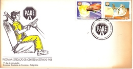 BRASIL ROAD SAFETY PARE 1995 NUMBERED 9132  (SET180221) - Incidenti E Sicurezza Stradale
