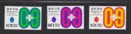 HONG KONG - 1971 - SCOUTS DIAMOND JUBILEE SET OF 3 MNH - Ungebraucht