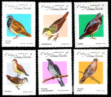14662  Pigeons - Colombes - 1979 - No Gum - Cb - 1,85 - Pigeons & Columbiformes