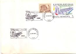 ROMANIA BRIDGE TRAIAN   1993 (SET180224) - Ponti
