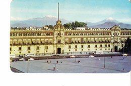 MEXICO 1960  - POSTCARD SPECIAL MEXICO D,F, -NATIONAL PALACE ANB EL ZOCALO  MAILED TO MILAN 17 NOV 1960POST7272 ATTENTIO - Mexique