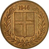 Monnaie, Iceland, 5 Aurar, 1946, TTB, Bronze, KM:9 - Islandia