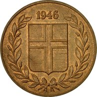 Monnaie, Iceland, 5 Aurar, 1946, TTB, Bronze, KM:9 - Islande