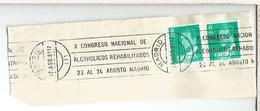 FRAGMENTO CON MATASELLOS RODILLO MADRID CONGRESO ALCOHOLICOS ALCOHOLIC - Bebidas