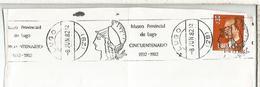 FRAGMENTO CON MATASELLOS RODILLO MUSEO PROVINCIAL DE LUGO MUSEUM - 1931-Hoy: 2ª República - ... Juan Carlos I