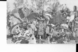 MEXICO   - POSTCARD - VILLA DE GUADALUPE D.F. ATZEC DANCERS  - DANZANTES ATZECAS -NEW-MARCOLOR 3097M POST7276 - Mexique
