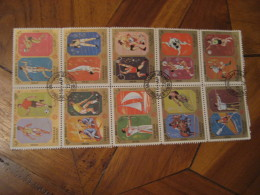 SHARJAH & Dep. 1972 10 Stamps Sheet MUNICH 1972 Olympic Games Olympics GERMANY Football Hockey Archery Basket Judo B - Zomer 1972: München