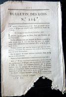 ESCLAVAGE TRAITE DES NOIRS CROISIERE POUR EMPECHER LA TRAITE DES NOIRS 1818 - Décrets & Lois