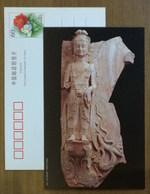 Rilievo Standing Stone Buddha Figure,lotus Pedestal,CN 02 Northern Wei-Eastern Wei(A.D. 386-550) Excellent Art PSC - Buddhism
