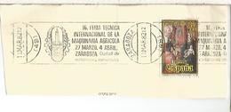 FRAGMENTO CON MATASELLOS RODILLO MADRID ZARAGOZA SALON MAQUINARIA AGRICOLA - Agricultura