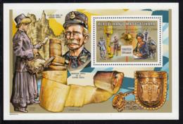 Madagascar 1999 MNH Scott #1498 Souvenir Sheet 1000 Fr Mailbox UPU 125th Anniversary - Madagascar (1960-...)