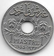 *syria 1 Piastres 1933  Km 71  Xf++  !!!! - Syrie