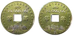 03222 GETTONE TOKEN JETON JAPAN CASINO SLOT MACHINE - Casino
