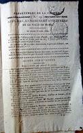 49 SAUMUR PROCES  CONSPIRATION D'OFFICIERS CONTRE LE ROI CARBONARI FRANCS MACONS 1822 HISTOIRE - Décrets & Lois