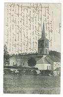 COURTIVRON Près Is Sur Tille, L'église - Circulée 1910- Bon état - Autres Communes