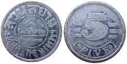 05294 GETTONE TOKEN JETON THAILANDIA AMUSEMENT CENTER SIAM PARK CITY 5 CENT ALU - Tokens & Medals