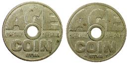 00200 GETTONE TOKEN JETON BELGIUM VENDING AGE COIN CONTROL CIGARETTE MACHINE TOKEN - Pays-Bas