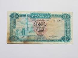 LIBYA 1 DINAR 1972 - Libia