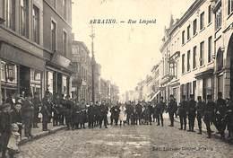 Seraing - Rue Léopold (top Animation, Hommes Armés, Edit Librairie Génard, 1907) - Seraing