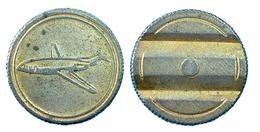 01425 GETTONE TOKEN JETON ARCADE MACHINE AEREO - Italy
