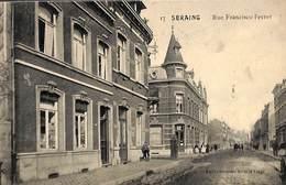 Seraing - Rue Francisco Ferrer (animée, Edit Emile Dumont, 1918) - Seraing