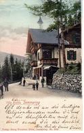 SEMMERING, Villa Radda, Verlag Kleinhaus, Semmerig,7.3.1905 - Neunkirchen
