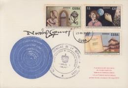 1973-CE-23 CUBA 1973 SPECIAL CANCEL. NICOLAS COPERNICO, POLAND, SCIENCE COSMOS. - Otros