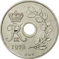 Monnaie, Danemark, Frederik IX, 25 Öre, 1972, Copenhagen, SUP, Copper-nickel - Denmark