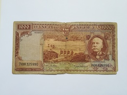 ANGOLA 1000 ESCUDOS 1956 - Angola