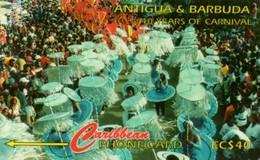 *ANTIGUA & BARBUDA  ( 181CATG )* - Scheda Usata - Antigua And Barbuda
