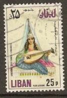 Lebanon  1973  SG  1143  Ancient Costume   Fine Used - Liban
