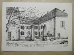 GORCY Château De La Martinière D'après Un Dessin De Yves Ducourtioux 54 Meurthe-et-Moselle Autres Communes - France