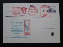 Olympic Games Chamonix 1924 Registered Slogan Meter 1994 Czech Republic 66102 - Winter 1924: Chamonix