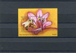 NAMIBIA 2004 HONEYBEE M.Blok 60 MNH. - Namibië (1990- ...)