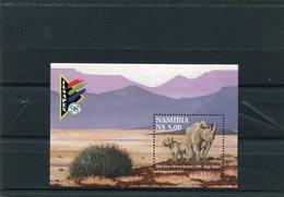 NAMIBIA 1998 RHINO M.Blok 45  MNH. - Namibië (1990- ...)