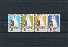 BOTSWANA 1969 CHRISTMAS M.54/57 MNH. - Botswana (1966-...)