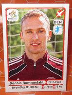 EURO2012 PANINI N. 217 ROMMEDAHL  STICKER NEW CON VELINA - Edizione Italiana