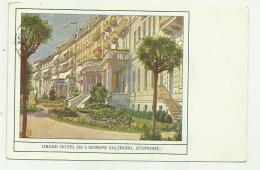 SALZBURG - GRAND HOTEL DE L'EUROPE - SUDFRONT 1934 VIAGGIATA FP - Autriche