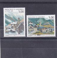 Andorre Français Neuf **  1999 N° 519/520  Ensemble Historique De Pal - Neufs
