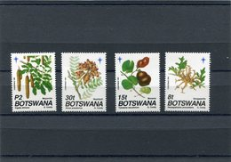 BOTSWANA 1991 FRUIT M.501/504 MNH. - Botswana (1966-...)