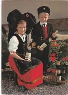 D266 FOLKLORE D'ALSACE - ENFANTS DU PAYS EN TENUE TRADITIONNELLE - Costumes