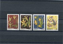 BOTSWANA 1989 ORCHIDS M.463/466 MNH. - Botswana (1966-...)