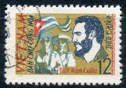 Y85 VIETNAM NORTH 1963 253 Vietnamese-Cuban Friendship. FIDEL CASTRO - Vietnam