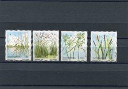 BOTSWANA 1987 WATER PLANTS M.423/426 MNH. - Botswana (1966-...)