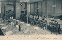 H153 - 38 - GRENOBLE - Isère - Protection De La Jeune Fille - 1 Rue Fourier - Grenoble