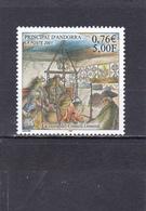 Andorre Français Neuf **  2001 N° 551  Histoire. La Cuisine Du COnseil Général - Neufs